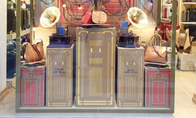 Sanremo, vetrine di cartone