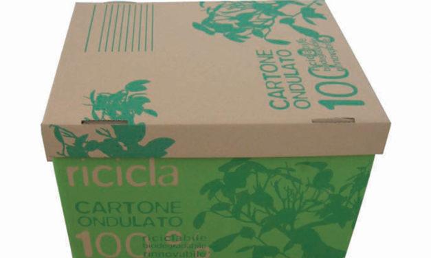 Scatola fondo e coperchio in cartone riciclato e personalizzabile