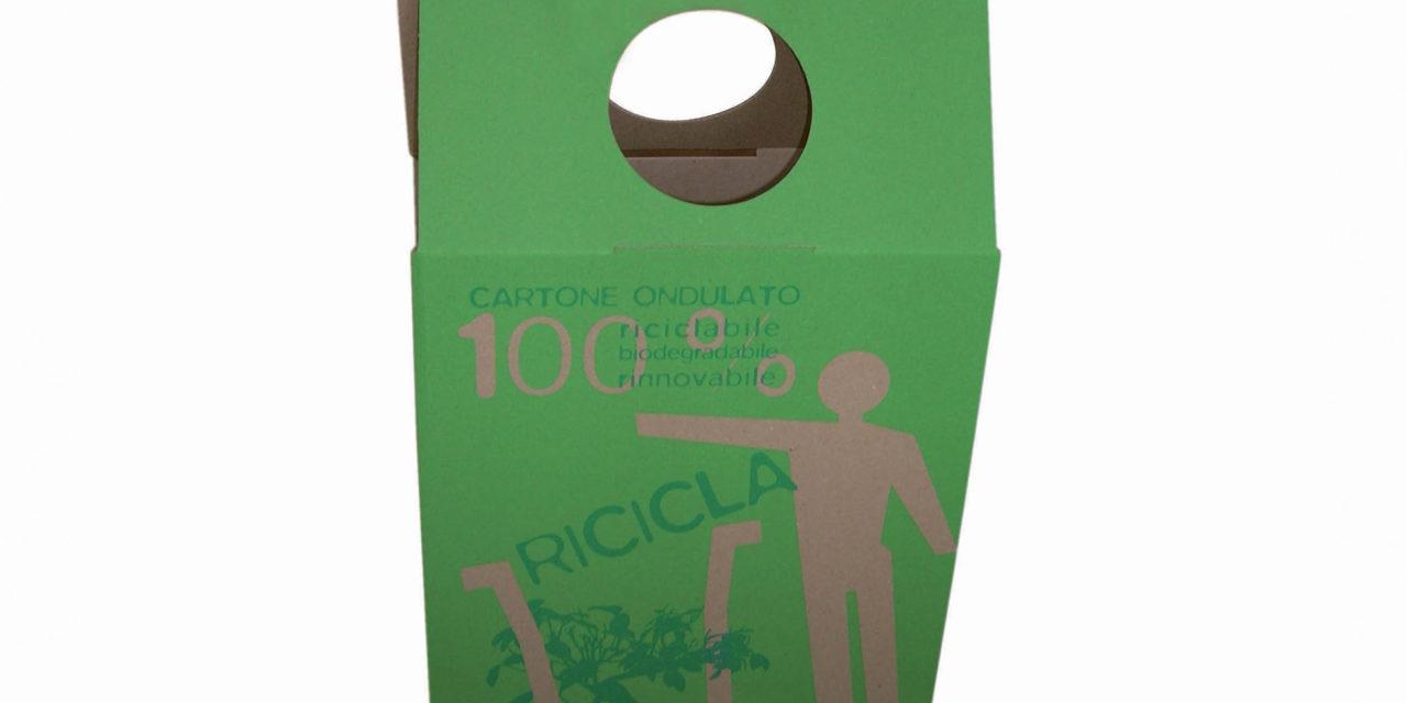 Shopper in cartone riciclato personalizzabile