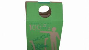 Octo Shopper Carta Ingrosso, Carta Riciclato, Cartoen Riciclato, Shopper personalizzato