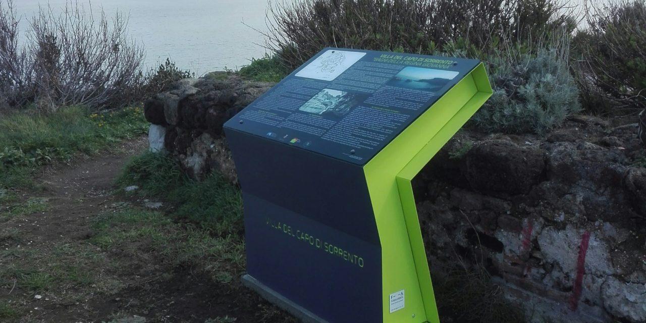 Pannelli e contenitori sostenibili per i Bagni della Regina Giovanna