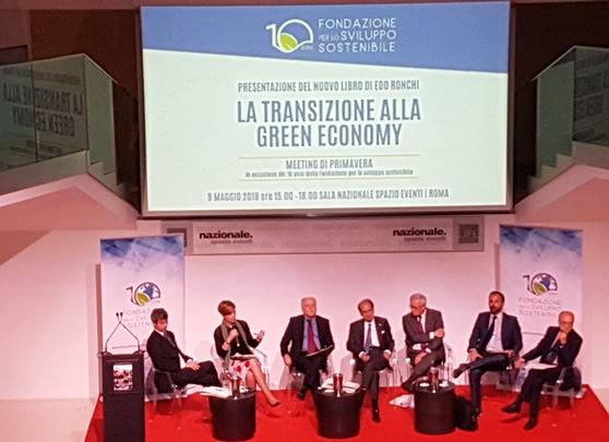 Green economy, a Roma il meeting per i 10 anni della Fondazione per lo sviluppo sostenibile
