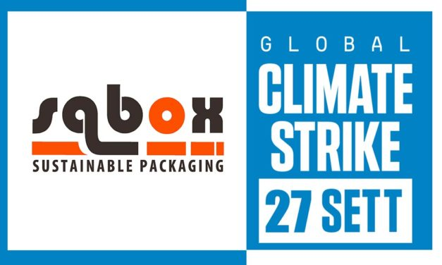 Sabox con #GlobalClimateStrike dal 20 al 27 settembre